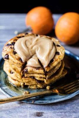 pancakes, paleo, pumpkin