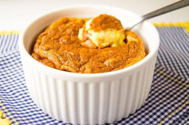paleo, gluten free, carrot souffle, healthy recipe